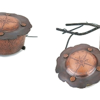 Copper compasses
